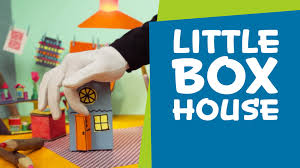 how to make a cardboard box house superhands easy crafts diy