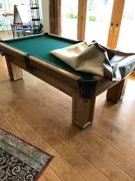 golden west billiards pool table price golden west billiards golden west pool table 7 1 2 foot very good