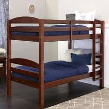 espresso twin bed solid wood espresso twin bunk bed free shipping today
