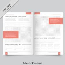 simple magazine template free vectors ui download