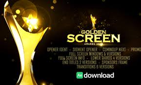 videohive golden screen awards after effects templates free