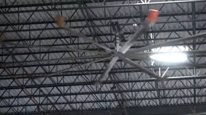 how to cool a warehouse with fans big warehouse ceiling fans 800 763 9020 youtube