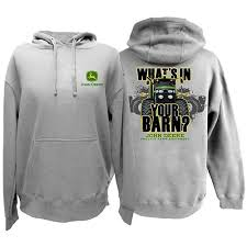 john deere whats in your barn hoodie usfarmer com