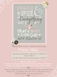 sugar and spice and everything baby shower sugar and spice and everything baby shower invitations