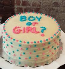 baby reveal cake special order u2013 sweet serendipity