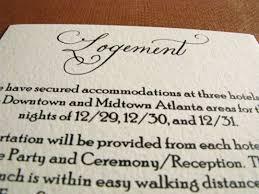 Wedding Inserts Information Wedding Invitation Inserts