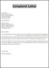 Formal Complaint Letter Format Sle printable sle proper business letter format form real estate