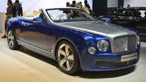 chrome bentley convertible bentley grand convertible concept goes in la
