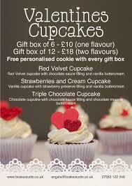 personalised chocolate cupcakes valentines day gifts b cake studio valentines cupcakes