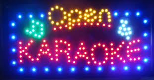 ultra bright led neon light animated led open karaoke signs neon