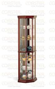 are curio cabinets out of style kitchen cabinets ideas coaster solid wood glass corner china curio