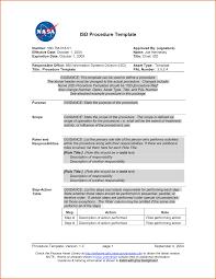 proc template 28 images 37 best standard operating procedure