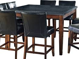 granite pub table and chairs attractive granite top bistro table commercial restaurant and for
