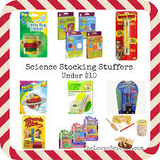 science stocking stuffers under 10 she loves science