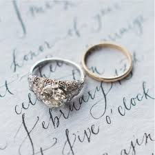 his and hers engagement rings breathtaking engagement rings from each decade southern living