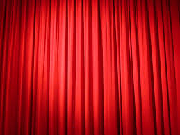 Curtains Stage Red Curtain Closing Sequence Youtube Red Curtains Home