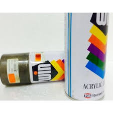 metallic orange color aerosol spray paints instant touch up no