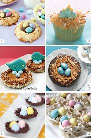 Easter Food And Decorations by Bird U0027s Nest Desserts For Easter Pretzel Sticks Easter And Chow Mein