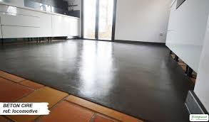 béton ciré sur carrelage cuisine béton ciré sur carrelage amenagement intérieur beton