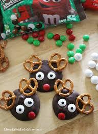 Christmas Treats Reindeer Melts Christmas Treat Mom Life Made Easy