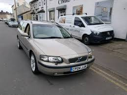 volvo v70 d5 2 4 turbo diesel estate manual 11 months mot
