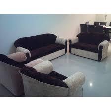 Cheapest Sofa Set Online by Sofa Set Ddd 003 Brown And White Velvet Dubai Abu Dhabi Online