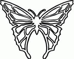 butterfly coloring pages print butterfly coloring images