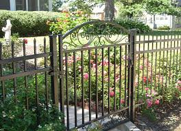 abc fence company ornamental steel or aluminum
