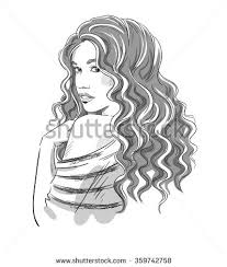 woman face drawing stock images royalty free images u0026 vectors