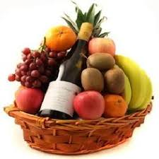 fruit gift baskets organic fruit and cheese tower gift towers towers