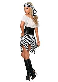 off shoulder pirate halloween costume white