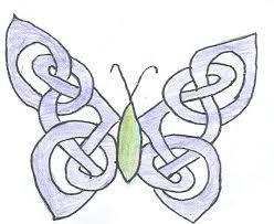 celtic butterfly by 123shaeneopets on deviantart
