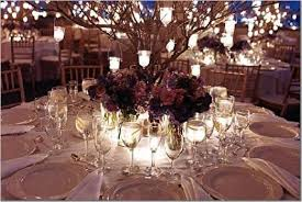 wedding tree centerpieces wedding centerpieces with branch candle hanging on dried tree for