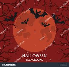 the background of halloween halloween background bats flying on background stock vector