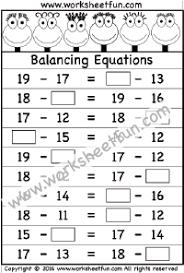 algebraic reasoning free printable worksheets u2013 worksheetfun