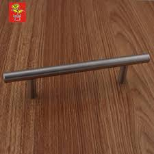 96mm center to center stainless steel kitchen t bar handle cabinet