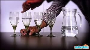 sounds from wine glasses cool science experiment youtube