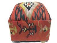 kilim ottomans and footstools