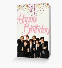 rap monster greeting cards redbubble