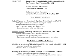 exles of resumes for teachers awesome free preschool resume templates images entry level