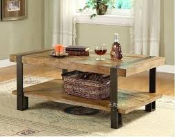 wood and wrought iron table wood and iron furniture homemade modern wood and iron table supplies