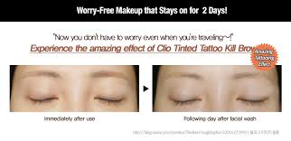 clio tattoo eyebrow pen clio tinted tattoo kill brow 3 colors to choose hermo online