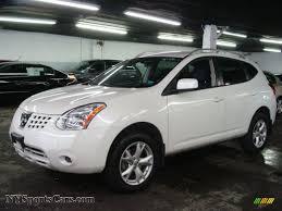 Nissan Rogue Awd - 2009 nissan rogue sl awd in phantom white 447756 nysportscars