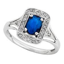 saphire rings sapphire diamond ring 14k ben bridge jeweler
