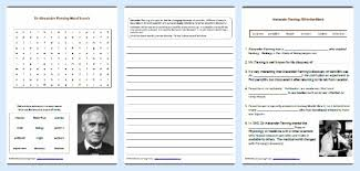 sir alexander fleming unit study helps with printables mamas