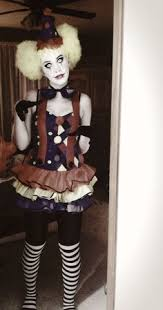 Scary Clown Halloween Costumes Women U0027s Scary Clown Halloween Costume Ah U0027s Play Dress