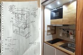 cuisine compacte pour studio portfolio dumont