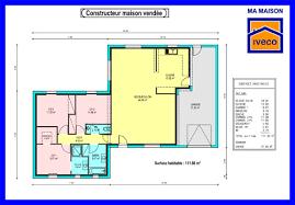 plan cuisine ouverte sur salon 4 constructeurvendee 187 plans