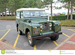 old land rover vintage land rover jeep stock image image 26712241