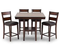 baltimore 5 pc counter height dining room set furniture row